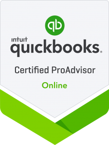 Certified QuickBooks Online Proadvisor Badge