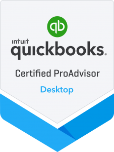 Certified QuickBooks Desktop Proadvisor Badge