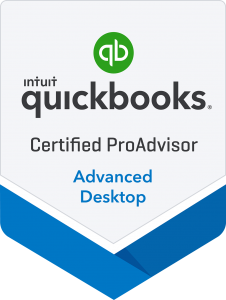 Certified Advanced QuickBooks Desktop Proadvisor Badge