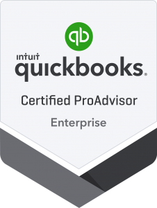 Certified QuickBooks Enterprise Proadvisor Badge