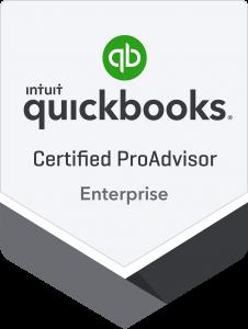 Certified QuickBooks Enterprise Proadvisor Badge
